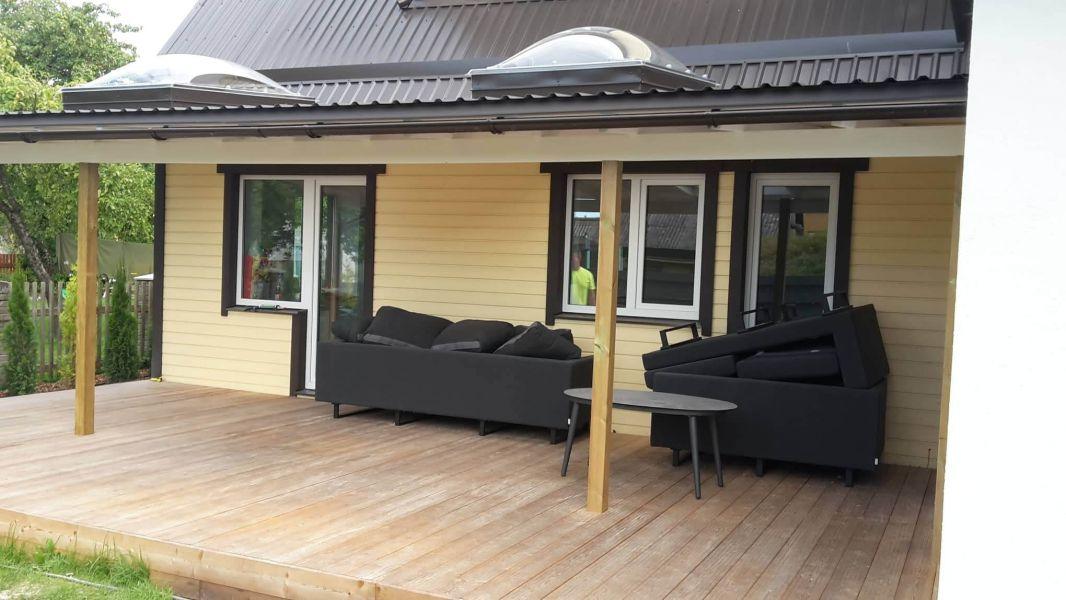 Terrassi ehitus - Terrass ja terrassi katusealune