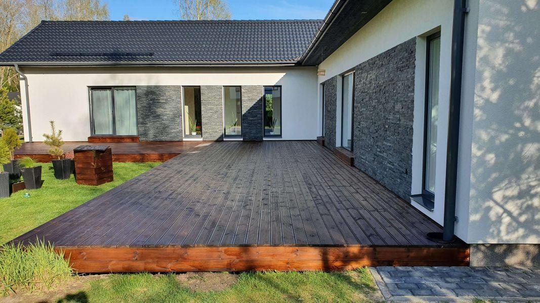 Terrassi hooldus - õlitatud terrass