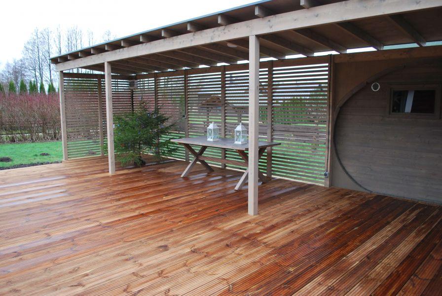 Terrassi varikatus - varikatuse ehitus